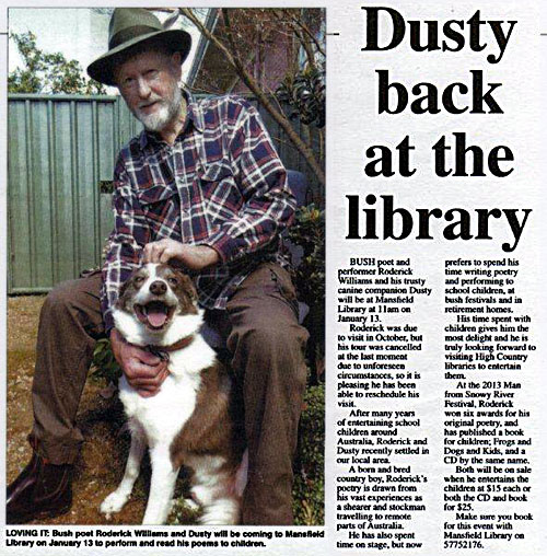 Dusty Back At The Library